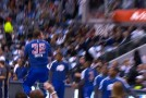 Blake Griffin's pre-game 360 pump dunk