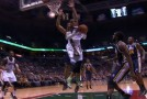 Monta Ellis with the baseline 360 reverse layup