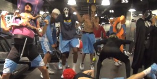 Denver Nuggets & Javale McGee finally release Harlem Shake video