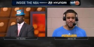 "Awkward interview between Shaq & Javale McGee ""I don't watch Shaqtin a Coon"""
