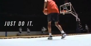 Eddie Jones rare 90′s Nike Commercial | EJ's best dunks with the Lakers