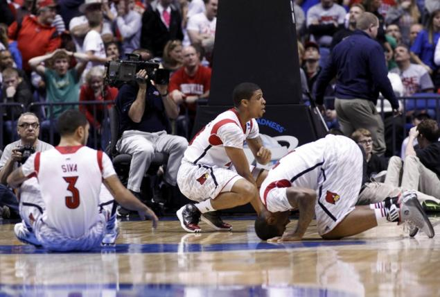 Ballislife | Peyton Siva and Louisville Team after Kevin Ware injury