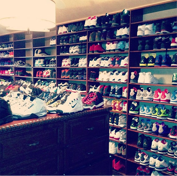 7f5a757e27921a Chris Paul s Sneaker Room Museum This pic of Chris Paul s sneaker collection  ...