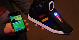 Google shows off Android/Adidas sneakers at SXSW