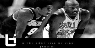 Kendrick Lamar ft Jay Z Dont Kill My Vibe Remix + Sick Kobe and Jordan Artwork