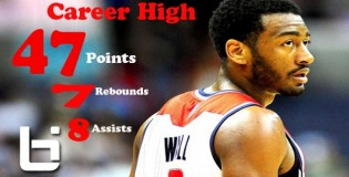 John Wall Career High 47 Points+ Puts Jerryd Bayless on Skates