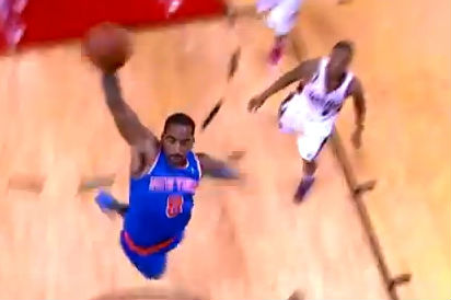 JR Smith scores 33 & blows past Damian Lillard for the explosive dunk