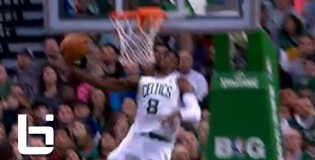 Jeff Green Gets A NASTY Baseline Reverse  Dunk