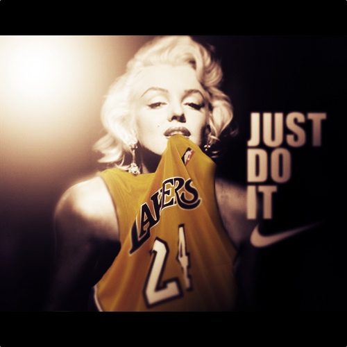 newest baf09 98756 Marilyn Monroe The Kobe Fan - Ballislife.com