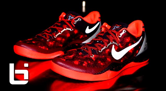 *NEW* Nike Red/Pure Platium Kobe Zoom 8