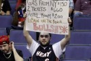 BS! Funny Sign by a Fan pissed off that LeBron didn't play against the Wizards