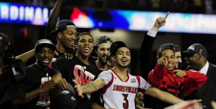 The Sights and Sounds of Louisville beating Michigan in an epic NCAA Championship game