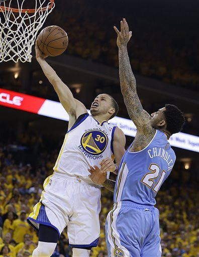 Stephen Curry, Wilson Chandler