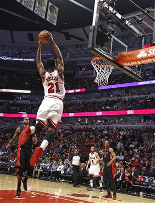 """Jimmy """"Buckets"""" Butler career high 28 in a near perfect game vs Raptors"""