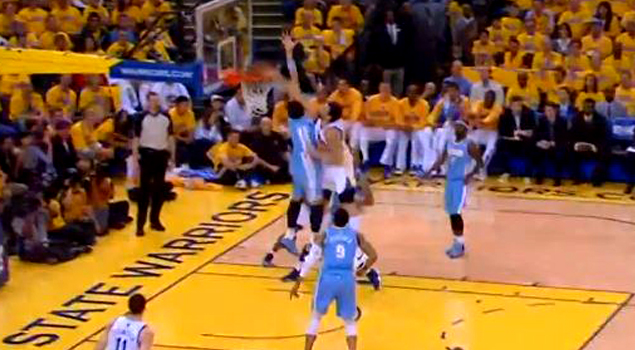 Andrew Bogut NASTY Dunk ALL OVER Javale McGee