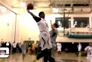 Isaiah Bailey Cuffs The Ball &#038; NASTY Dunk On Defender! Why Did He Jump!?