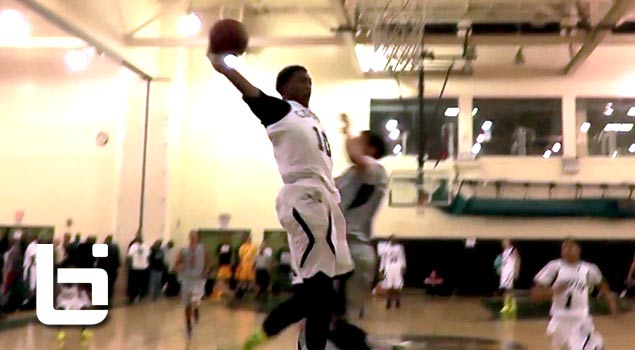 Isaiah Bailey Cuffs The Ball & NASTY Dunk On Defender! Why Did He Jump!?