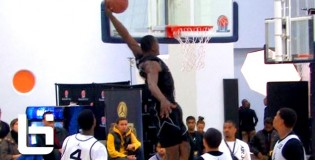 Aaron Gordon Nasty 360 Alley Oop + Julius Randle Posterized Defender! JBC Day 2 Highlights!