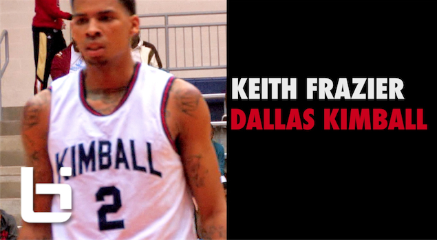 Keith Frazier Ballislife Senior Mixtape | SMU Commit with NBA Range