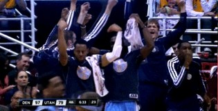 The Denver Nuggets Awesome Italian Influenced Celebration