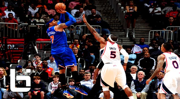 Carmelo Anthony's Historic 3 Point Shooting Night Ties Knicks Record
