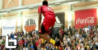 Andrew Wiggins CRAZY Reverse 360 Between The Legs Dunk at 2013 McDonalds All American Dunk Contest To Shut The Gym Down!!