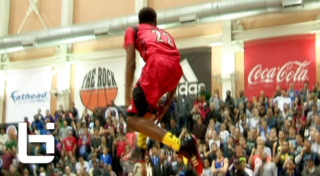 Ballislife | Andrew Wiggins 360 Reverse eastbay in McDonalds Dunk Contest