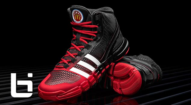 2db48b742a Adidas Unveils Special Edition Crazyquick for McDonald s All American Games