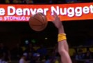 JaVale McGee catches Carl Landry's shot & is wrongly called for Goaltending | Blocks David Lee's dunk attempt