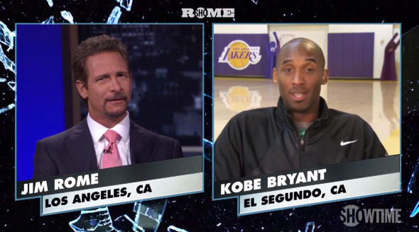 "Kobe tells Jim Rome he would ""smack the hell outta"" Coach Mike Rice"
