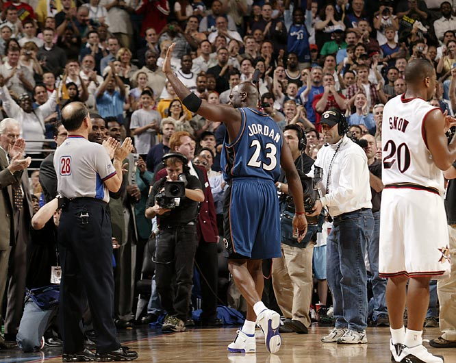 10 years ago today, Michael Jordan played his final game in the NBA