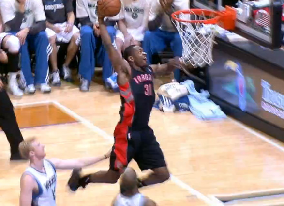 Terrence Ross Sick 360 Dunk From Last Night! - Ballislife.com