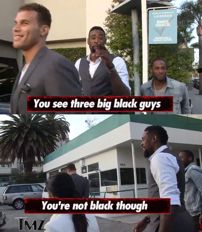DeAndre Jordan Confuses TMZ By Saying Blake Griffin Is
