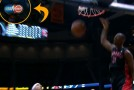 Raptors played on TNT last night!  Terrence Ross alley-oop