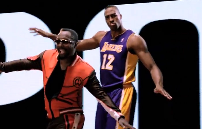 ESPN NBA Playoffs commercial with will.i.am