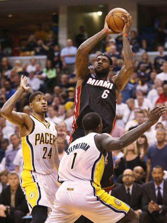 Miami Scores franchise best 70 points in 1st half vs Pacers in GM3