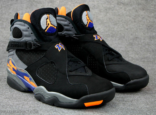 Reduced Air Jordan 8 - Air Jordan 8 Grey Orange Nikes Discount