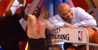 Shaq & Barkley Have a 3 Point Contest On TNT Inside The NBA