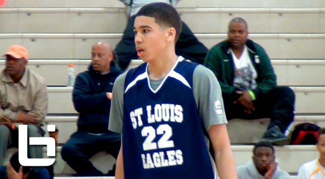 9th Grader Jayson Tatum Shows Out in Spring Circuit | Ballislife Mixtape