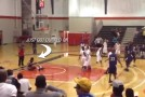Nasty dunk at Ottawa High School All-Star game / defender hits the floor &#038; crowd jumps up