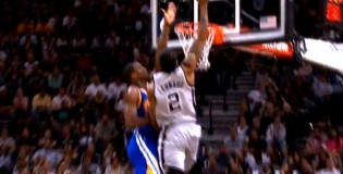 Kawhi Leonard Rises Up & Throws Down On Harrison Barnes!