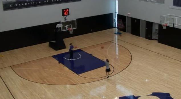 Girl Makes 132 out of 135 Three Pointers in 5 Minutes!