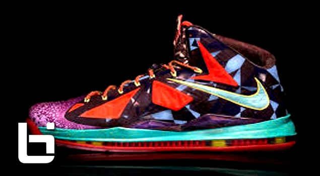 Nike Releases Lebron MVP X's SICK COLORWAY!
