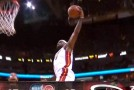 LeBron James Gets The Steal & Goes Coast To Coast for the Power Dunk!