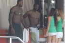 LeBron & Wade at the beach