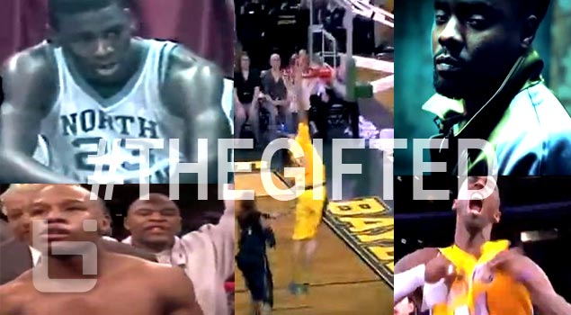 Micheal Jordan,Kobe,Brittney Griner Star in Wale #THEGIFTED SERIES