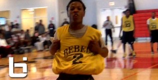 5'7 Trae Jefferson Exciting Point Guard With Handles & Hops!