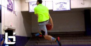 Zach LaVine Off The Wall Between The Legs Dunk Makes it Look EASY During Ballislife All American 2nd Run!!