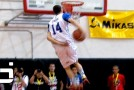 INSANE 2013 Ballislife All American High School Dunk Contest! Zach LaVine NASTY Behind The Back & Reverse Eastbay To Win It!