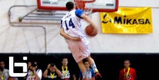 INSANE 2013 Ballislife All American High School Dunk Contest! Zach LaVine NASTY Behind The Back &#038; Reverse Eastbay To Win It!
